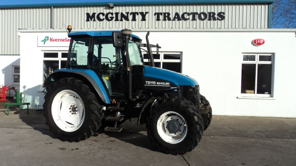 New Holland TS115 SLE - Old Stock - SOLD | McGinty Tractors