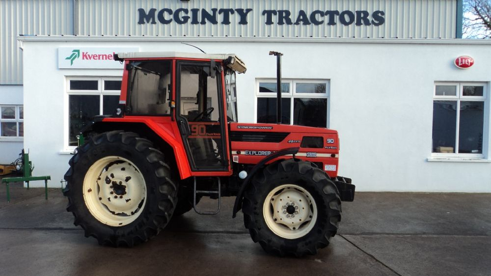 Same Tractor 90 : Same explorer turbo old stock sold mcginty