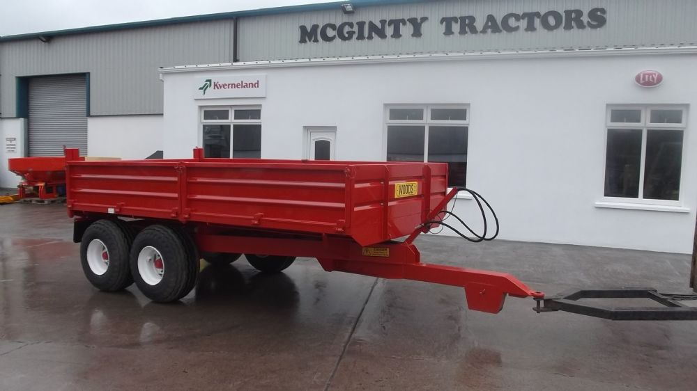 Woods 13x7 Tandem Axle Tipping Trailer - New Machinery