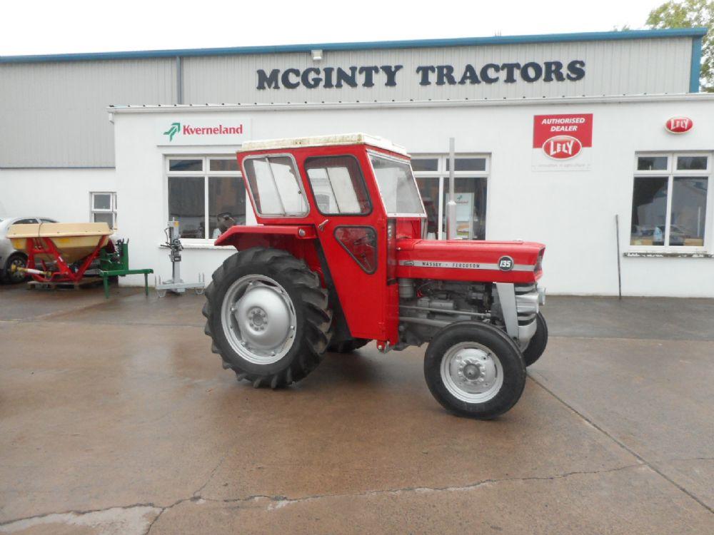 Massey Ferguson 135 Light Work : Massey ferguson used tractors sold mcginty
