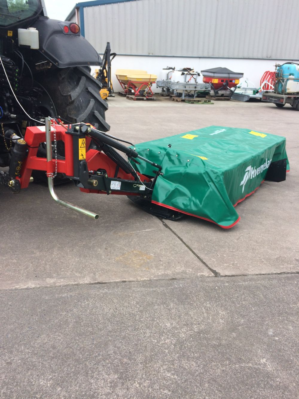 Kverneland 2320 Disc Mower New Machinery Mcginty Tractors